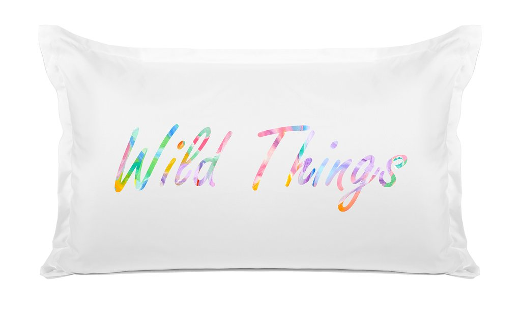 WILD THINGS PILLOW CASE