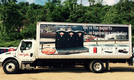 Commercial Truck Graphics Advertising